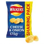 Walkers Cheese & Onion Sharing Bag Crisps 175g